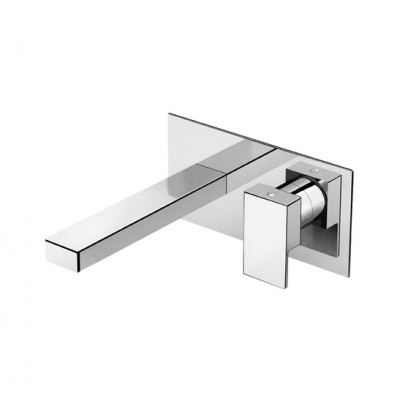 Fir-Italia-New-Playone-90-miscelatore-lavabo-incasso-a-parete-cromo