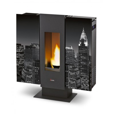 Cadel Wall stufa pellet air neutra 9 kW 7013008