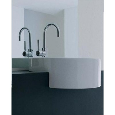 Flaminia Twin Lavabo semi-incasso 5054