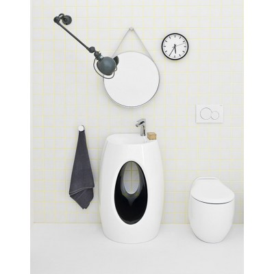 Artceram One Shot-Hall lavabo a muro HLL001 01;50